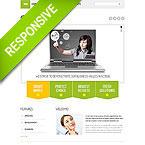 Consulting Services Responsive HTML Template