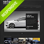 Cars Magazine Responsive Web Template