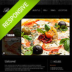 Raffinato Italian Cafe Website Responsive