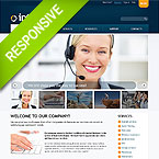 Connect People Website Responsive Template