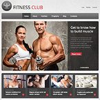 Fitness CMS HTML5 Template