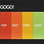 Design Art Flash Website Template