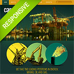 Industrial Joomla Responsive Template