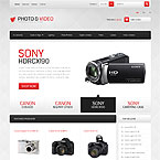 Photo and Video Store Prestashop Template