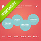 Creative Marketing Responsive Web Template