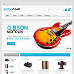 Musical Instruments Prestashop Theme