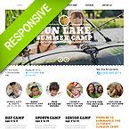 Summer Camp Responsive Joomla Theme