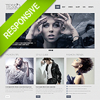 Fashion Twitter Bootstrap Responsive Theme