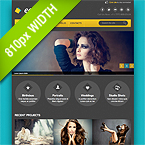 Photo Studio Facebook Template 810px
