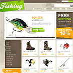 Fisherman Sport Template For Virtuemart