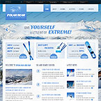 Winter Sport Web Template