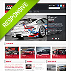 Street Racing Website Template