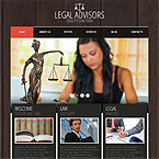 Legal Advisor Wordpress Theme