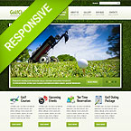 Golf Club Template For Joomla