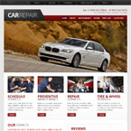 Car Repair Web Template