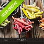 Pasta Restaurant Joomla Template