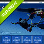 Sport Parachute Club Website Template