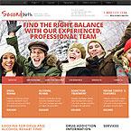 Treatment Center Website Template