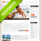 Professional Travel Responsive Web Template