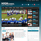 High School Wordpress Theme