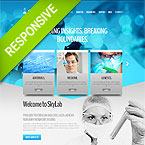 Medical Laboratory Joomla Template