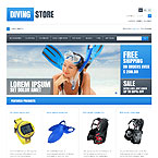Dive Supply Prestashop Theme