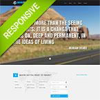 Travel Parallax Responsive Site Theme