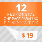 12 Parallax Responsive Onepage Themes Deal