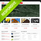 Industrial Web Site Template