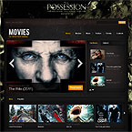 Movies Drupal Template