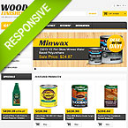 Wood Finishes Template For Prestashop