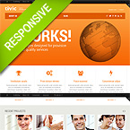 Best Business Website Template