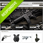Weapon Magento Template