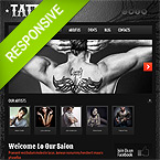 Tattoo Responsive Wordpress Theme