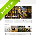 Horse Club Responsive Bootstrap Website Template