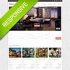 Real Estate Responsive Bootstrap Website Template