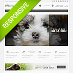 Animal Responsive Bootstrap HTML Theme