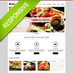 Japanese Restaurant Wordpress Theme