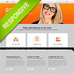 Technical Website Design Template