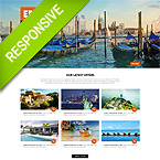 Travel Tourism Joomla Template