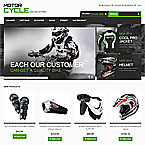 Motorcycle Gear Template For Magento