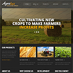 Agriculture Html Web Template