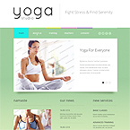 Yoga Training Website Template