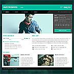 Music Responsive HTML5 vCard Template