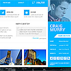 Architecture Professional vCard Template