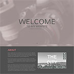 Phographer One Page Parallax Template