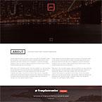 Responsive Parallax One Page Portfolio