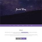 Clean Portfolio Onepage Parallax HTML5 Theme