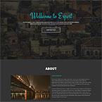 Onepage Parallax Responsive HTML Theme