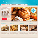 Bakery Cafe Wordpress Template